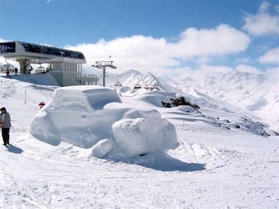 Sneeuwsculpturen